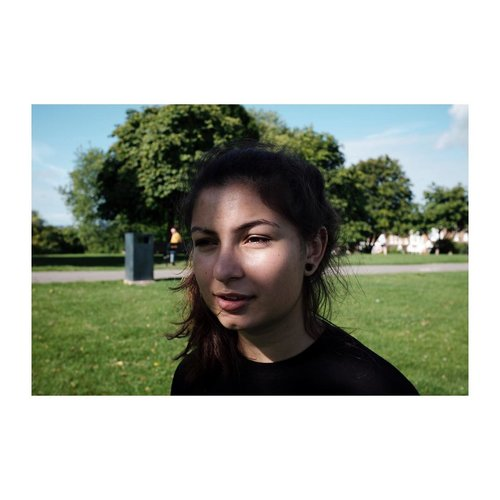 Dapples and shadows – – – – – – – – – – #portraiture #dapple #fuji #onlocation #london #sun #summer #spring #park #catstagram #l width=