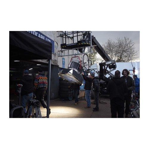 Saturday's Sunset – – – – – – – – – – – – #famousbtsmag #onset #filmmaking #grip #lighting #crew #bts #fuji #filming #arri #mo width=