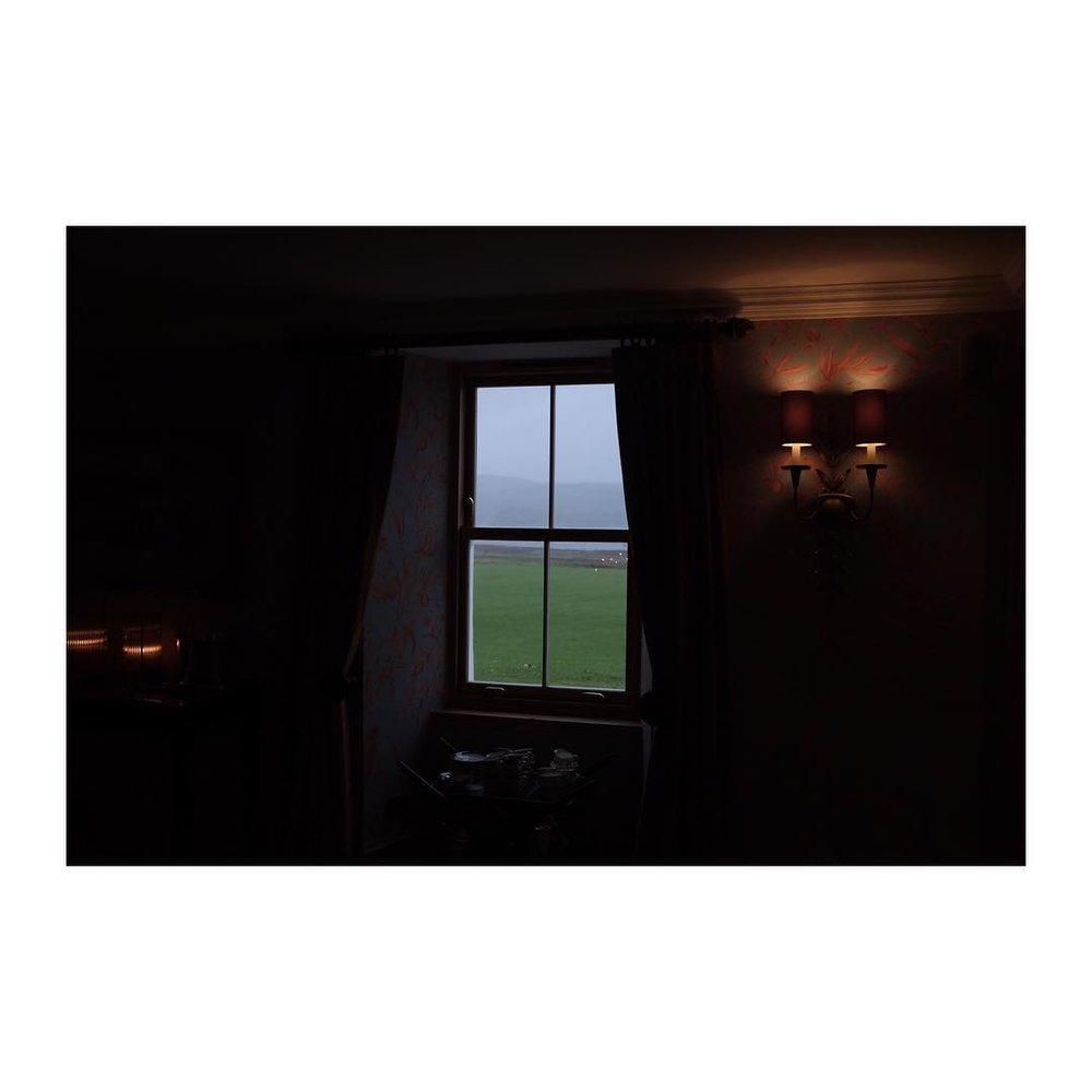 Loch Sunart – – – – – – – – – – – – #scotland #onlocation #filming #shoot #countryhouse #window #earlymorning #loch #glencoe #lo width=
